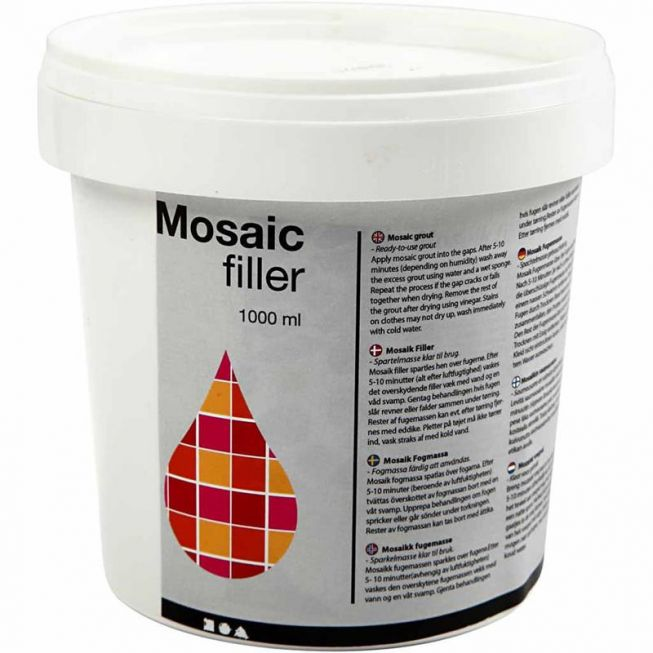 Mosaic Filer white