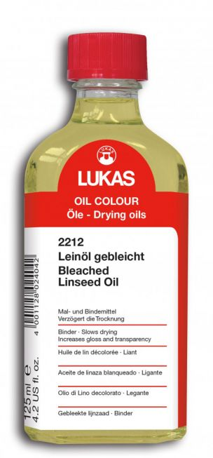 Bleached linseed oil