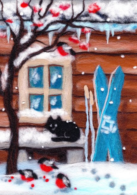 Painting wool kit - Russian Winter