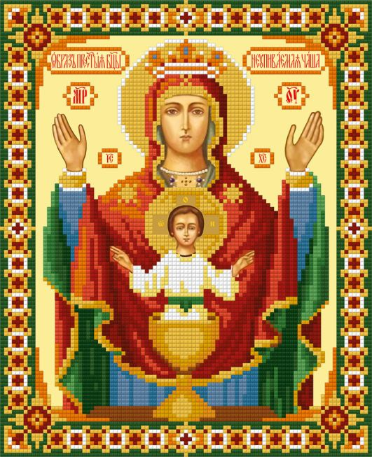Diamond Painting - Our lady
